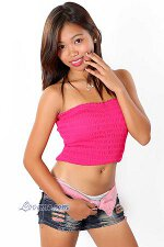 Teen girl from asia